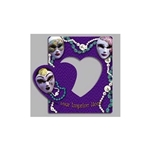 Promotional Mardi Gras - Picture Frame Magnets