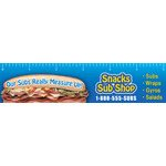 Promotional Sub/Sandwich - Ruler Magnets