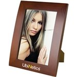 Promotional 5X7 Walnut Finish Photo Frame