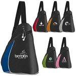 Promotional Color Splash Side Sling Pack