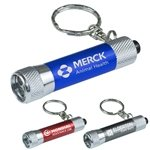 Promotional Mini 3 LED Aluminum Keychain Keylight