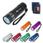 Promotional Aluminum LED Flashlight With Strap