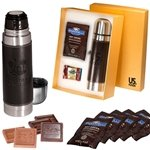 Promotional Empire™ Thermos & Ghirardelli® Deluxe Gift Set