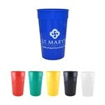 Promotional 22 oz Fluted Plastic Stadium Cup