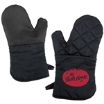Promotional Oven Mitt With Silicone Back