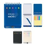 Promotional Spiral Jotter With Sticky Notes, Flags & Pen