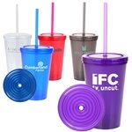 Promotional 16 oz Double Wall Green Tumbler