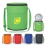 Promotional Non-Woven Round Cooler Bag