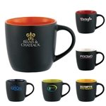 Promotional Riviera Ceramic Mug - 12 oz