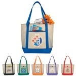 Promotional Lighthouse Non-Woven Boat Tote