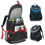 Promotional PEVA Lined Backpack Cooler