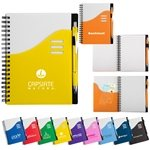 Promotional Wave Notebook & Ballpoint Stylus