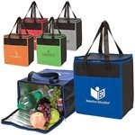 Promotional Tote-It-All Colorful Cooler