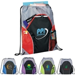 Promotional The Marathon Drawstring Cinch Backpack