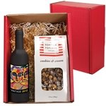 Promotional Gourmet Popcorn & Wine Tool Gift Set