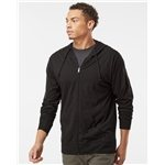 Promotional Independent Trading Co. Lightweight Jersey Hooded Full-Zip