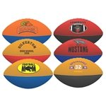 Promotional 7 Two-Toned Foam Footballs