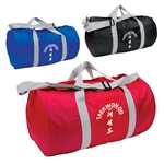 Promotional Budget Barrel Duffel Bag