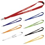 Promotional Lanyard with Metal Lobster Clip - 3/4