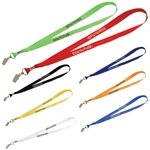 Promotional Lanyard with Metal Bulldog Clip - 3/4