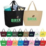 Promotional Non Woven Multi Color The Yaya Budget Tote Bag 20 X 13