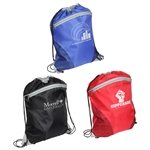 Promotional Cyclone Mesh Curve Drawstring Backpack