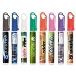 Promotional 10ml Pocket Hand Sanitizer With Carabineer Clip