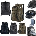 Promotional PolyCanvas Concourse Tsa Friendly Backpack 17 Laptop