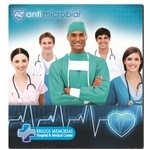 Promotional BIC® Antimicrobial Mouse Pad (7-1/2 x 8)