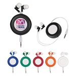 Promotional Retro Retractable Ear Buds