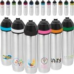 Promotional 20 oz Persona® Wave Vacuum Water Bottle