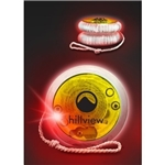 Promotional Red LED Lighted Yo-Yo's - Yellow