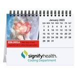 Promotional Custom Photo Tent Desk Calendar