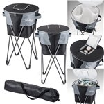 Promotional Gridiron Cooler With Stand