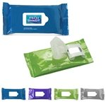 Promotional Antibacterial Wet Wipes in Pouch