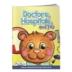 Promotional Coloring Book with Mask: Doctors, Hospital, and Yo