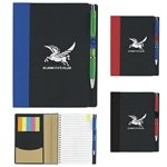 Promotional 5x7 ECO Notebook w/Flags