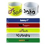 Promotional Reflective Slap Wristband