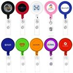 Promotional Round-Shaped Retractable Badge Holder