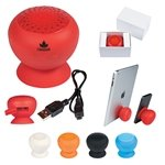 Promotional Silicone Speaker With Phone Stand