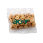 Promotional Small Imprinted Bountiful Bag Filled with Peanuts