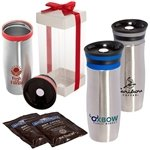 Promotional Click 'N Sip Gleam Tumbler & Ghirardelli® Cocoa Gift Set