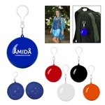 Promotional Poncho Ball Key Chain