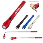 Promotional Telescopic Aluminum Flashlight With Magnet