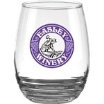 Promotional 17 oz Vina Stemless
