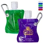 Promotional Collapsible Hand Sanitizer - 1 oz.