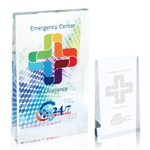 Promotional Acrylic Wedge - Small