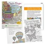 Promotional Creative Designs For Relaxation & Fun Adult Coloring Book