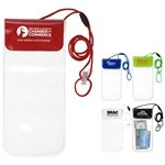 Promotional All Purpose Waterproof Cell Phone and Accessories Carrying Case with 35 Adjustable Breakaway Lanyard