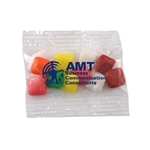Promotional Small Imprinted Bountiful Bag Filled with Mini Chicklets